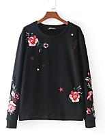 cheap -Women's Going out Sweatshirt - Floral