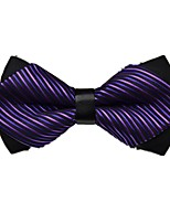 cheap -Unisex Party / Basic Bow Tie - Striped / Color Block Bow
