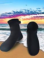 Недорогие -HISEA® Носки для плавания 3mm Неопрен для Взрослые - Противозаносный Плавание / Для погружения с трубкой
