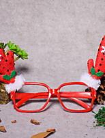 economico -Ornamenti di Natale Vacanza Stoffa (cotone) / Plastica Quadrato Originale Decorazione natalizia
