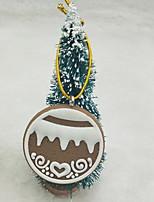 Недорогие -Рождественские украшения Праздник пластик Круглый Оригинальные Рождественские украшения