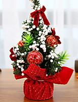 economico -Alberi di Natale / Decorazioni Vacanza Plastica Quadrato di legno Decorazione natalizia