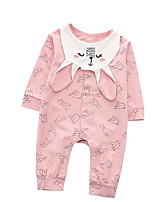 cheap -Baby Girls' Geometric Long Sleeve Overall & Jumpsuit