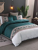 cheap -Duvet Cover Sets Contemporary Polyster Reactive Print 3 Piece