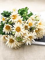 Недорогие -Искусственные Цветы 1 Филиал Классический Стиль / Modern Ромашки Букеты на стол
