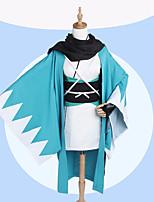 economico -Ispirato da Fate / zero Okita Souji Anime Costumi Cosplay Abiti Cosplay Con stampa Cappotto / Maniche / Calze Per Per donna Costumi Halloween