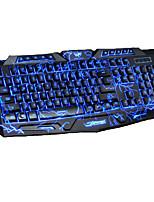 Недорогие -Factory OEM Проводное Мульти цвет подсветки 104 pcs Управление с клавиатуры Градиент цвета От батареи питание