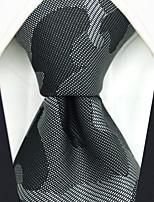 cheap -Men's Party / Work Necktie - Geometric / Color Block / Jacquard