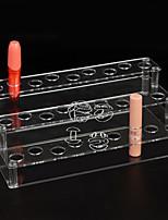 abordables -Espace de rangement Organisation Organisateur de maquillage cosmétique Acrylique Forme de rectangle Découvert
