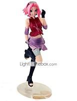 baratos -Figuras de Ação Anime Inspirado por Naruto Uchiha Sarada PVC 22 cm CM modelo Brinquedos Boneca de Brinquedo