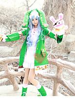 Недорогие -Вдохновлен Date A Live Yoshino Аниме Косплэй костюмы Косплей Костюмы Мультипликация Костюм Назначение Жен. Костюмы на Хэллоуин