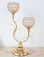 cheap -Modern / Contemporary Iron Candle Holders Candelabra 1pc, Candle / Candle Holder