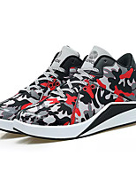 cheap -Men's Canvas / PU(Polyurethane) Summer Comfort Sneakers Camouflage Color Black / White / Black / Red