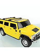 baratos -Carro com CR Rastar 28500 4CH 27MHz Carro 1:24 7 km/h KM / H Luzes / Controle Remoto