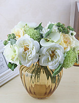 cheap -Artificial Flowers 8 Branch Classic / Single Stylish / Pastoral Style Roses / Hydrangeas Tabletop Flower