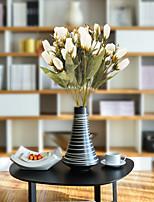 Недорогие -Искусственные Цветы 1 Филиал Классический Простой стиль / Пастораль Стиль Тюльпаны Букеты на стол