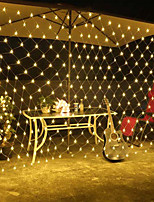 cheap -1.5m Flexible LED Light Strips 500 LEDs EL White / Red / Yellow Waterproof / Creative / Decorative 220-240 V 1 set