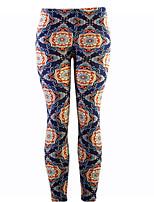 cheap -Women's Daily Sporty / Basic Legging - Floral Mid Waist
