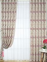 abordables -cortinas cortinas Sala de estar Floral Algodón / Poliéster Impreso