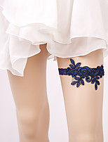 cheap -Lace Accent / Decorative / Wedding Wedding Garter With Hollow-out Garters Wedding / Special Occasion