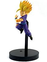 Недорогие -Аниме Фигурки Вдохновлен Жемчуг дракона Son Goku ПВХ 14 cm См Модель игрушки игрушки куклы