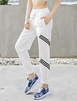 preiswerte -Damen Patchwork / Tasche Laufhosen - Schwarz, Blau, Rosa Sport Einfarbig Elasthan Gewobene Hosen Fitness, Fitnessstudio, Trainieren Sportkleidung Leicht, Rasche Trocknung, Atmungsaktiv Mikro-elastisch