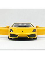 Недорогие -Rastar Игрушечные машинки Транспорт Cool моделирование утонченный Пластиковые & Металл Металлический сплав Дети Для подростков Все Мальчики Девочки Игрушки Подарок 1 pcs