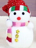 baratos -Fantasias de Natal / Enfeites de Natal Férias Tecido Quadrada Novidades Decoração de Natal
