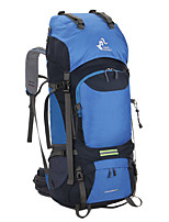 cheap -60 L Rucksack - Rain-Proof, Breathability Outdoor Hiking, Camping, Travel Nylon Green, Blue, Dark Navy