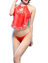 cheap -Women's Suits Nightwear - Lace, Embroidered