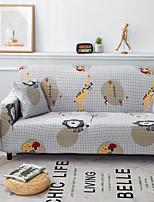 abordables -Housse de canapé Multicolore Imprimé Polyester Literie