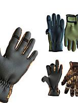 Недорогие -Спортивные перчатки Перчатки для велосипедистов Водонепроницаемость / Пригодно для носки / Дышащий Без пальцев Лайкра Шоссейные велосипеды / На открытом воздухе / Велосипедный спорт / Велоспорт Муж.