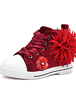 cheap -Girls' Shoes PU(Polyurethane) Spring & Summer Comfort / Fashion Boots Boots Walking Shoes for Teenager Gray / Pink / Burgundy / Booties / Ankle Boots