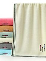 abordables -Qualité supérieure Serviette, Couleur Pleine Pur coton Salle de  Bain 1 pcs