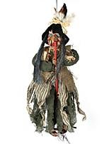Недорогие -Праздничные украшения Украшения для Хэллоуина Хэллоуин Развлекательный / Декоративные объекты Декоративная Черный 1шт