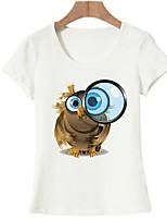 economico -T-shirt Per donna Essenziale Con stampe, Animali
