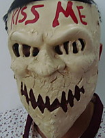 cheap -Holiday Decorations Halloween Decorations Halloween Masks Party / Decorative / Cool Light Yellow 1pc