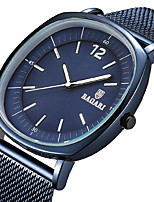 cheap -Men's Sport Watch Wrist Watch Japanese Quartz Casual Watch Cool Stainless Steel Band Analog Luxury Fashion Black / Blue / Grey - Rose Gold Black / Gray Black / Rose Gold