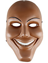 cheap -Holiday Decorations Halloween Decorations Halloween Masks / Halloween Entertaining Decorative / Cool Brown 1pc