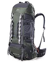 Недорогие -75 L Заплечный рюкзак - Дожденепроницаемый, Воздухопроницаемость На открытом воздухе Пешеходный туризм, Походы, Путешествия Черный, Оранжевый, Зеленый