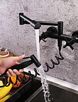 economico -Rubinetto da cucina - Moderno Pittura Miscelatore canna bassa / pot Filler Montaggio su parete