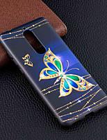 Недорогие -Кейс для Назначение Nokia Nokia 5.1 / Nokia 3.1 С узором Кейс на заднюю панель Бабочка Мягкий ТПУ для Nokia 8 / Nokia 6 / Nokia 5