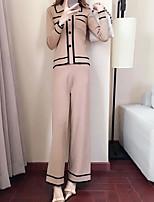 cheap -Women's Sweater - Striped Pant