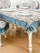 cheap -Contemporary Cotton Square Table Cloth Floral Table Decorations 1 pcs