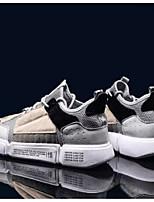Недорогие -Муж. Комфортная обувь Сетка Весна & осень На каждый день Кеды Серый / Синий / Розовый и белый