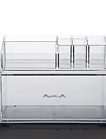 abordables -Espace de rangement Organisation Collection de bijoux Acrylique / Plastique Forme de rectangle Créatif