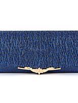 cheap -Women's Bags Satin Evening Bag Solid Dark Blue / Brown / Dark Grey