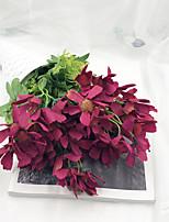 Недорогие -Искусственные Цветы 1 Филиал Классический Стиль / Простой стиль Ромашки Букеты на стол