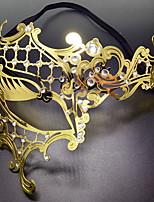 preiswerte -Urlaubsdekoration Halloween-Dekorationen Halloween-Masken Dekorativ / Cool Gold 1pc