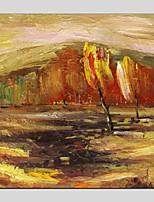abordables -Pintura al óleo pintada a colgar Pintada a mano - Paisaje Modern Lona